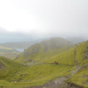 Descent from The Old Man of Storr
