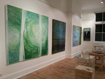 Sullied Seas Solo exhibition ONCA GALLERY